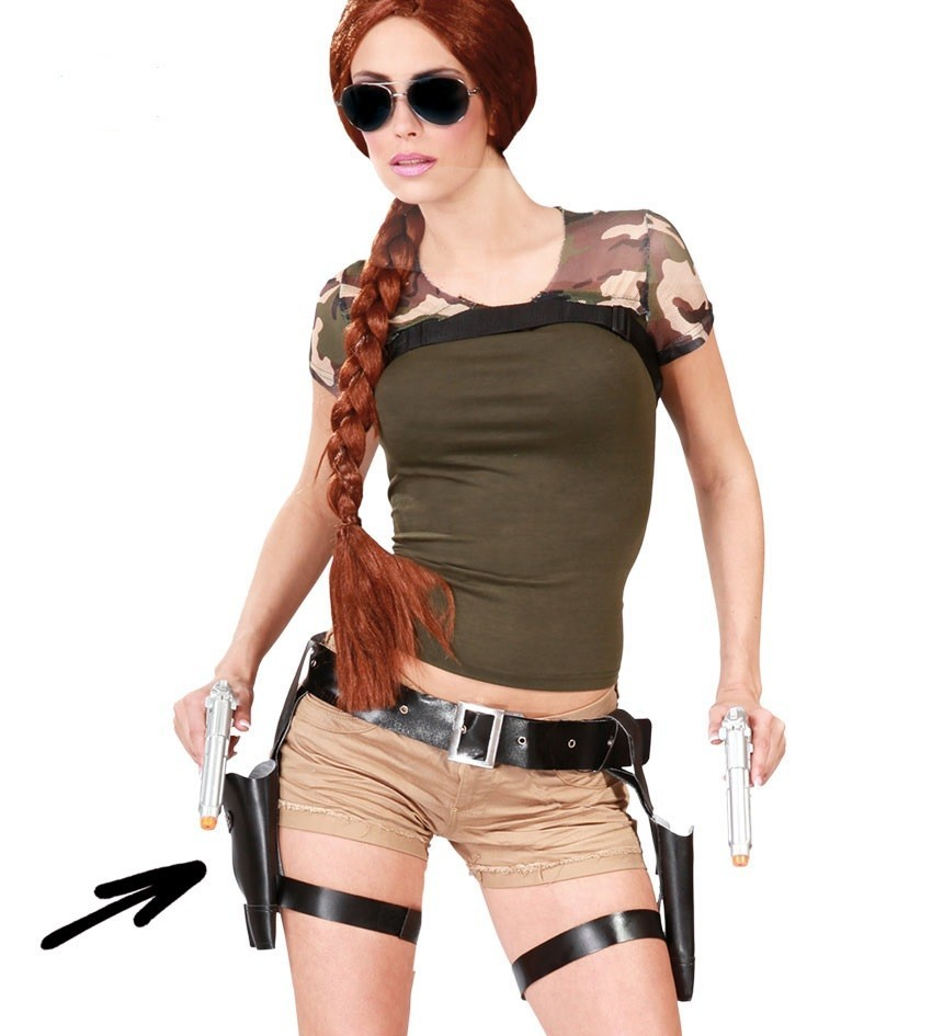Cartucheras Dobles Con Pistolas Artículos Fiesta Y Regalos Murillo S L
