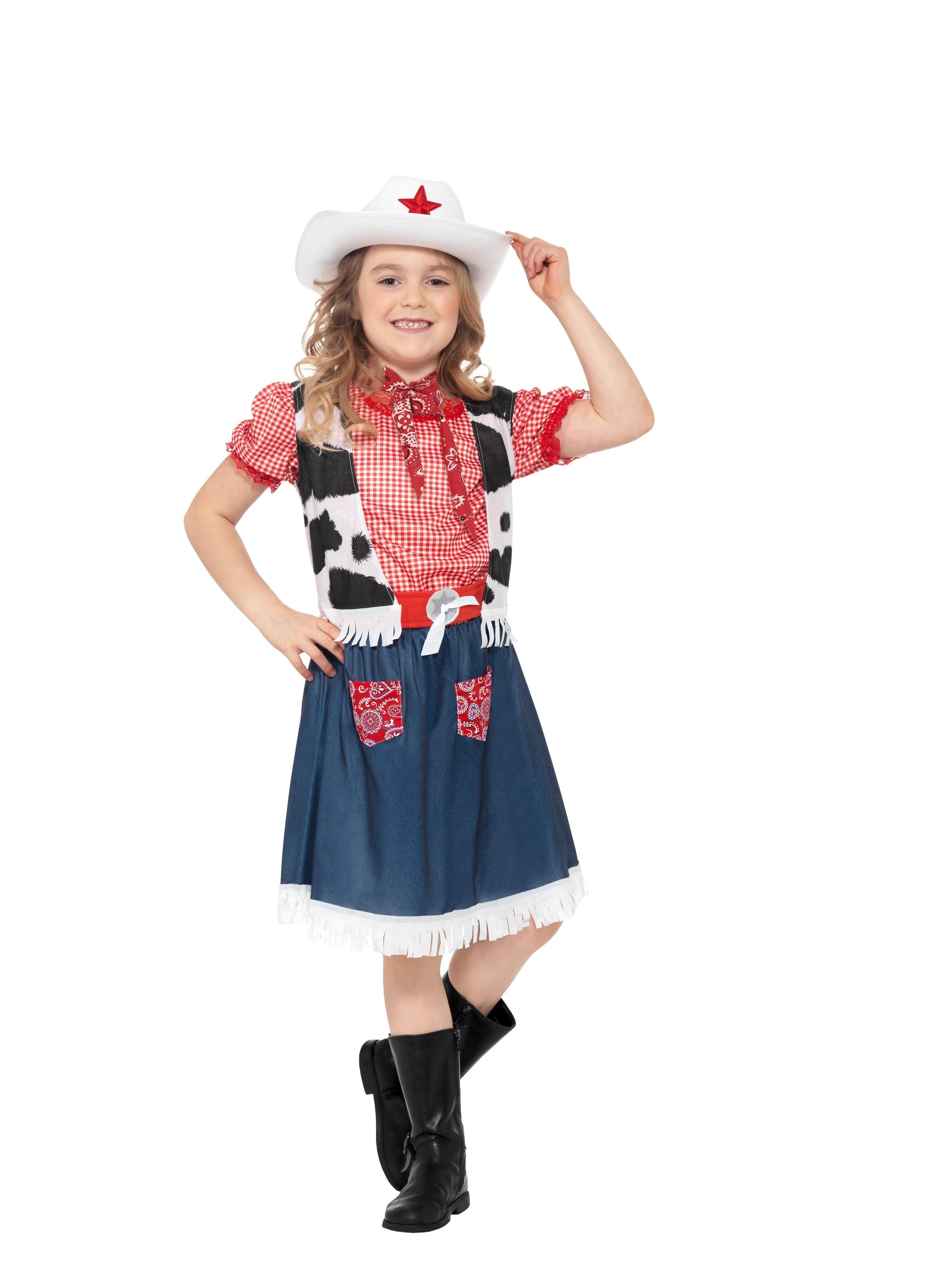 5500500fe5398 Disfraz de Vaquera infantil - Disfraces Murillo